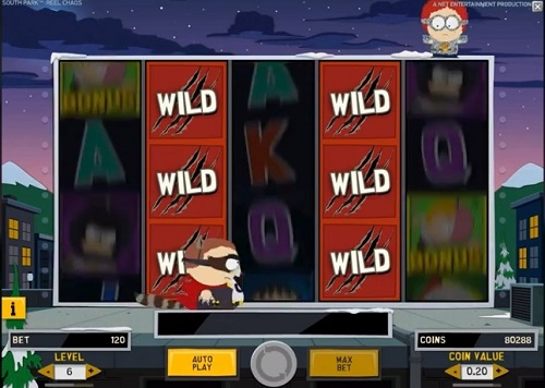 South Park Reel Chaos Cartmans Stacked Wilds