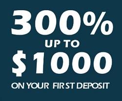 300% Casino Bonus