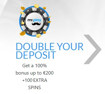 Mr Play Welkomstbonus
