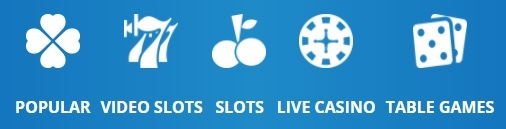 Casino Categorieën