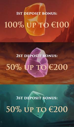 CasinoRex Welkomstbonus