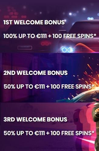 Turbico Casino Welkomstbonus