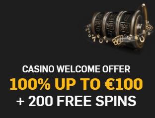 Betfair Casino Welkomstbonus