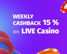 Mystake Live Casino Cashback